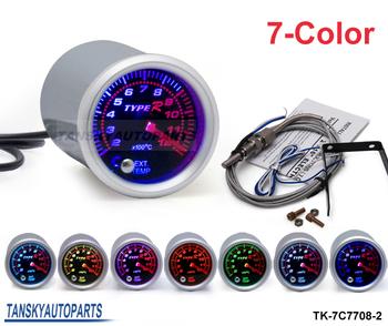 Tansky - 7 COLOR Exhaust Gas Temperature EGT Gauge TK-7C7708-2