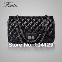 Promotion High Quality Fashion Genuine leather (sheep skin) shoulder brand designer women bag Tote evening bags handbags