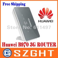 Free shipping Huawei B970 Original 3G wireless router unlocked HSDPA WIFI wholesale