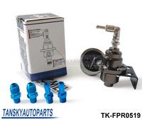 Tansky - TOME Fuel Pressure Regulator /Fuel Regulator with black Gauge Original box,REAL LOGO TK-FPR0519