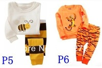 New style  baby  children's pj boy /girl comfortable ,6pcs/lot