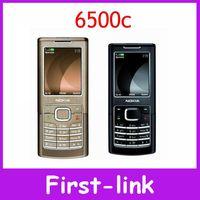 Nokia 6500c original unlocked nokia 6500 classic cell phones 830mah 2MP camera one year warranty in stock FREE SHIPPING!