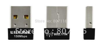 wholesale new 100PCS mini 150M Wifi usb wireless lan adapter card,802.11b/g/n