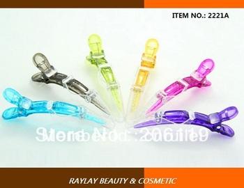 Fashion new style crystal crocodile hair clips hairdressing clip  hair beauty clip