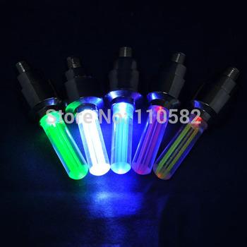10pcs Best tyre light bike wheel led light fireflys Blue /Green /Red /yellow /White Wheel Valve Caps Neon LED lamp for bicycle