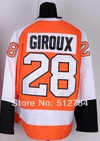 #28 Claude Giroux Jersey,Ice Hockey Jersey,Best quality,Embroidery logos,Authentic Jersey,Size M--XXXL,Accept Mix Order
