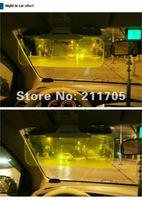free shipping day & night the dual-purpose prevent dazzle goggles night vision driving glasses + sunglasses