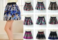 Q003 Winter new retro thick woolen skirt bud tutu skirts 14COLORS