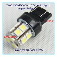 Mazda 3 2013 new products rear brake light T20 7443 led car auto 13 smd5050 car lamp,w21/5w led auto bulb 4pcs/lot high quality