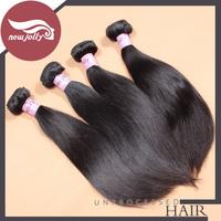 Brazilian straight hair natural remy human hair 100% human hair wig 2pcs/lot straight brazillian hair free shipping