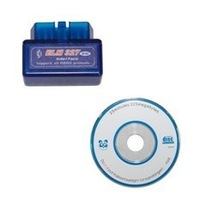 wholesale the lowest price and best fuction  Super mini elm 327 bluetooth for obd ii cars with free shipping