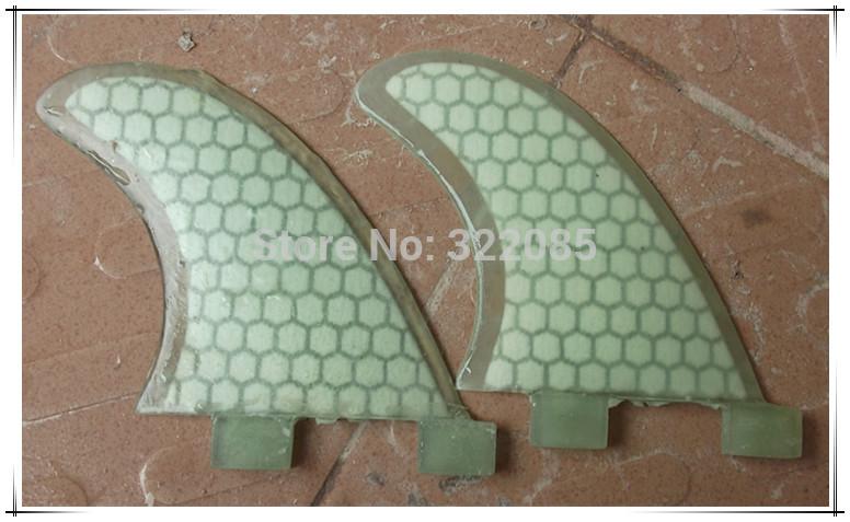 clear honey design surfboard fin GL side fin(China (Mainland))