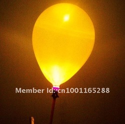 High Brightness Flashing Inflatable Led Balloon for Party Decoration, 100pcs a lot(China (Mainland))