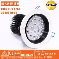 WHOLESALE 18W HIGH POWER ANIC-GLARE LED SPOT LIGHT ,CE&RoHS,SAA CETFICATE(RM-THMW0007)A