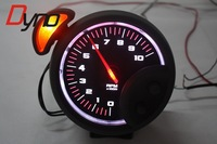 "KYLIN STORE - 5"" AUTO Meter Gauge/ 2 4 6 8 CYLINDERS STEPPER MOTOR MOVEMENT TACHOMETER WHITE LED COOL DESIGN"