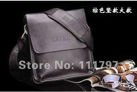 fashion men shoulder bag,men genuine leather messenger bag,free shipping