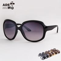 New 2014 Fashion Brand Sun Glasses Women Big Size 1 pcs Vintage Sunglasses oculos de sol with Cheap price Drop Shipping