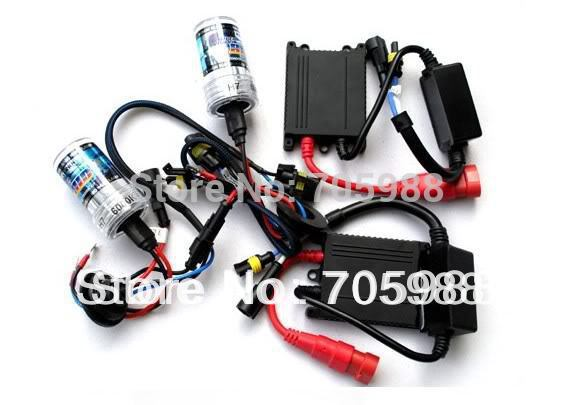 AC ballasts 35W SUPER Slim XENON HID KIT single beam D2S H1 H3 H7 H8 H10 H11 9005 9006 880 881 4300K 5000k 6000k 8000k 10000k(China (Mainland))