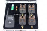 Free shipping JY-30 Wholesaler Wireless Fishing Bite Alarms Set Waterproof LED Light indicator