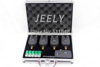 Free shipping Manufacturer Fishing bite alarm wireless set JY-17 (1receiver+4alarms)