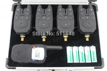 Free shipping fishing bite alarm wireless set JY-21