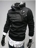 Jackets men hoodies korean new 2014 fashion men's hoody sportswear Faux Fur collar men jacket top brand men's dust coat Jaqueta