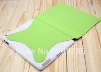 Free shipping Auto sleep wake Slim Magnetic Smart Cover leather case protector for new iPad 3 ipad 2