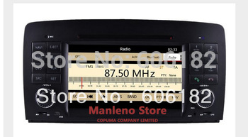 Brand Car DVD GPS Navi Headunit for Mercedes Benz R W251(2006-2013) GPS Dual zone MP5 1080P