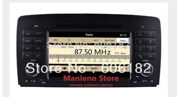 Brand Car DVD player Sat Navi Car Radio Stereo Headunit for Mercedes Benz R W251(2006-2013) GPS Dual zone MP5 1080P