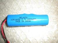 18650 lithium ion battery pack 3.7V 2200mAh (28pcs/lot , TNT express Free shipping)