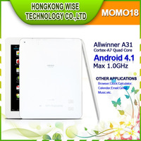 "[in stock] 8"" IPS Ployer MOMO18 Android 4.1 Allwinner A31 Cortex-A7 Quad Core tablet pc 2GB RAM wifi HDMI 1024*768/Ammy"