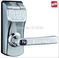 2014 HOT Model Free Shipping Security Fingerprint Lock  Digital Door Lock Available For Wooden Door