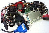 freeshipping CARPROGv4.1 full Universal Diagnostic repair tool 21 adaptors,car prog for radios,odometers,dashboards,immobilizers