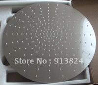 Top stainless steel rainfall shower brushed ceiling shower head