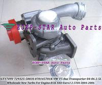 GT1749V 729325-5003S 070145701K TURBO Turbine Turbocharger For VOLKSWAGEN VW T5 Bus Transporter 2004-2006 R5K AXD Euro3 2.5L TDI