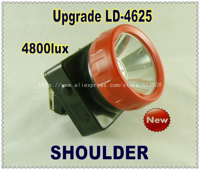 cordless mining lights led cap light headlight upgrade LD-4625 free shipping 60pcs/lot(China (Mainland))