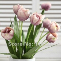 Fabric Tulip Silk Flowers/Artificial Flowers For Home Decoration