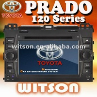 WITSON Factory Price!!!TOYOTA PRADO 120 Car DVD with GPS Navigation TV Without JBL Amplifier Version+Russia map+Russia Menu