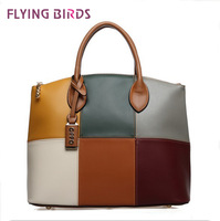FLYING BIRDS 2012 Hot New Design Women Fashion women leather Handbags Retrpo Doctor Shoulder Bag PU Leather Women HC046