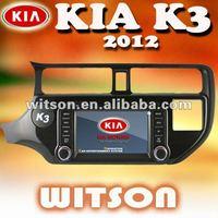 WITSON Factory Price!Free Shipping Car DVD GPS for KIA K3/RIO+Russia Menu+Free Russia Map