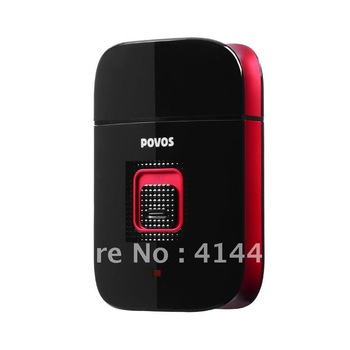 Free shipping  POVOS  PS3206 power USB RECHARAGEABLE fully washable safty razor shaver