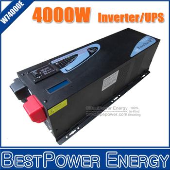 DC24V or DC48V 4000W Home Hot Sale UPS Inverter Pure Sine Wave Inverter With Charger (Peak Power 12000W + Charger Current 35Amp)