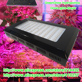 300W(100*3W) Led grow light for hydroponics lighting high quality with 3years warranty dropshipping