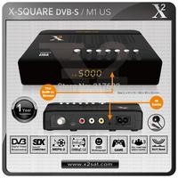 40Pcs/Lot X2-FTA DVB-S Mini Digital Satellite Receiver,Smallest Receiver in the World