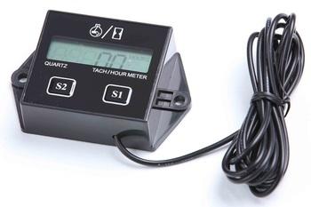 5PC Digital Hour meter tachometer tach digital LCD KAWASAKI atv motorcycle generator mx utv