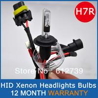 35W  H7R 4300K 5000K 6000K 8000K  HID XENON BULBS Xenon Car Lamps Headlights 2 Pcs