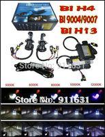 Free Shipping 12V Xenon HID kit  H4 H4-H/L H/L Beam H4-3 Bi Xenon H16 9004 9007 35W Slim Ballast