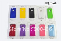 Hot ! 10% off  20pcs/lot Moshi iglaze single color case for iphone 5  Free shipping