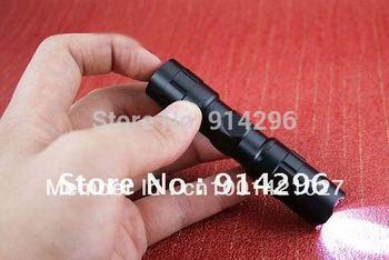 2pcs/lots!!! Free shipping Mini 3W 1AA Led Handy Waterproof Flashlight Torch