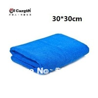 Free Shipping 5pcs 30*30cm Car wash thickening ultrafine fiber nano auto supplies cleaning towel/Special car wash towels